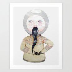 Jeremy's Impotence Art Print