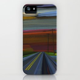 intersection of hands creek iPhone Case