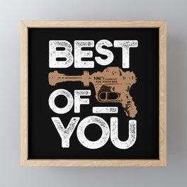 Best of You Framed Mini Art Print
