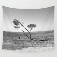 desert Wall Tapestries featuring Desert by Frankpeti
