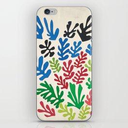 Leaf Cutouts by Henri Matisse (1953) iPhone Skin
