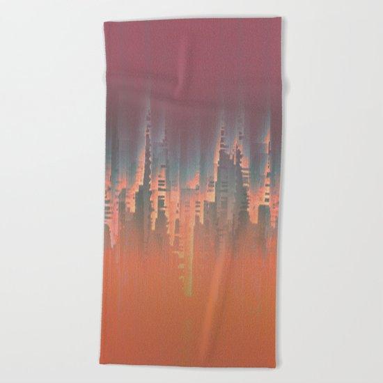 Reversible Space II Beach Towel