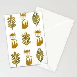 F is for fox Stationery Cards