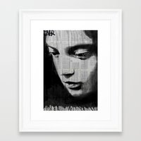 voyage Framed Art Prints featuring voyage by LouiJoverArt
