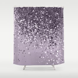 Sparkling Lavender Lady Glitter #2 #shiny #decor #art #society6 Shower Curtain