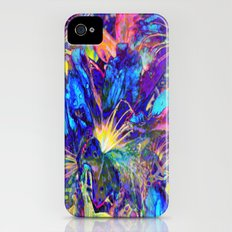 Blue Garden  iPhone (4, 4s) Slim Case