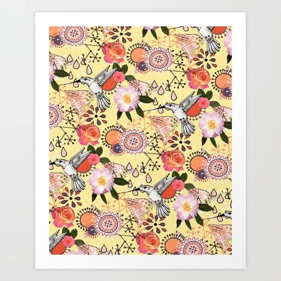 Feeling Fluttery Art Print