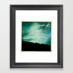 hills 2 Framed Art Print
