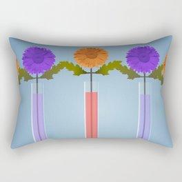 Flower vase design # 3 Rectangular Pillow