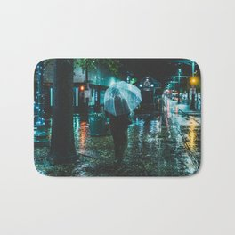 Walking Down Street - Memphis Photo Print Bath Mat