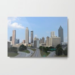 Jackson Street Bridge Metal Print
