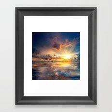 Lost In Paradise Framed Art Print