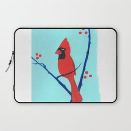 Cardinal Winter Berries Laptop Sleeve