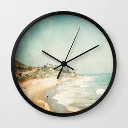 Malibu Wall Clock