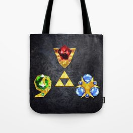 The Timeless Legend of Zelda Inspired Spiritual Stones Tote Bag