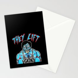 THEY LIFT Stationery Cards