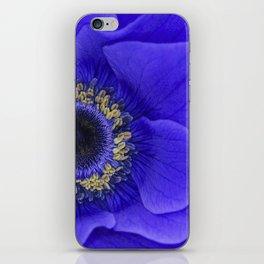 Blue Annie iPhone Skin