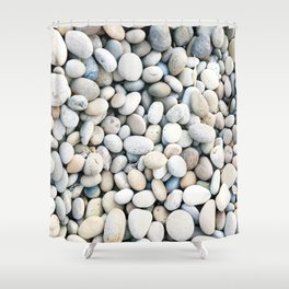 Stoned Shower Curtain