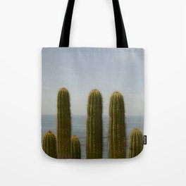 Sea Cactus Tote Bag