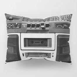 cassette recorder / audio player - 80s radio Pillow Sham