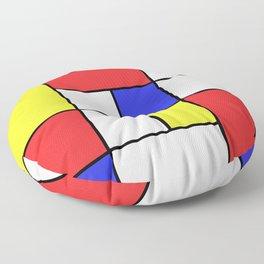 Mondrian #23 Floor Pillow