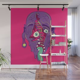Face Melter Wall Mural