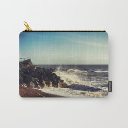 Battered Rocks Carry-All Pouch