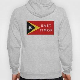 flag of east timor Hoody