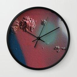 Graffiti Detail 3 Wall Clock