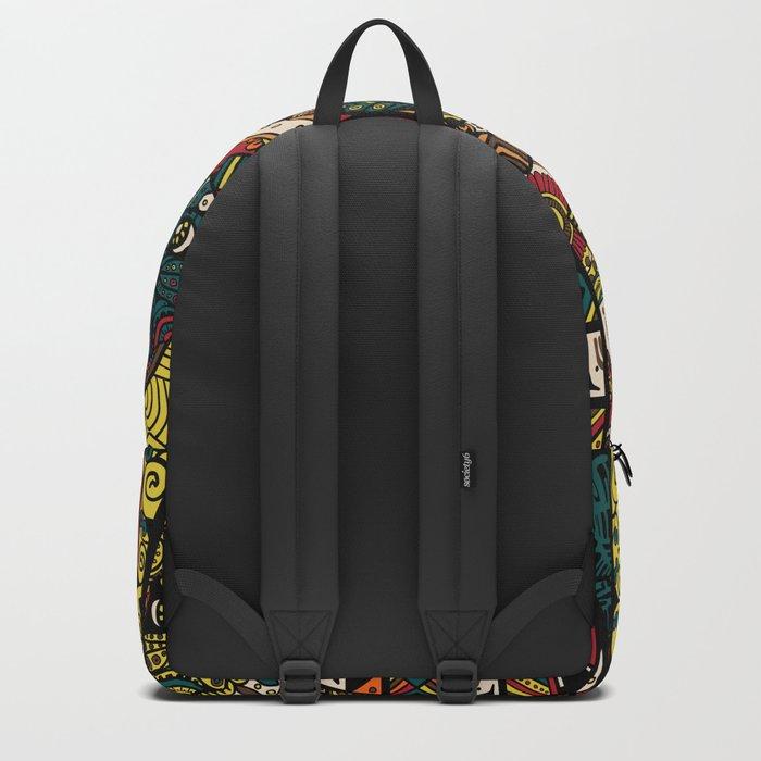 Ethnic Pug Backpack