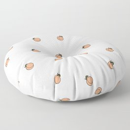 Peach Pattern Floor Pillow