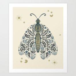 Butterfly Effect_05 Art Print