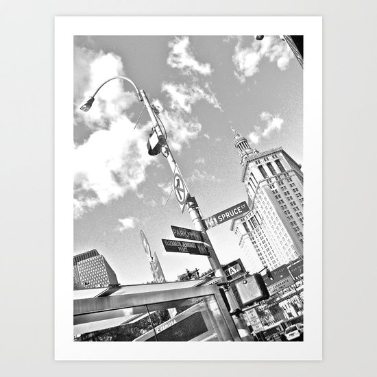 WHITEOUT : Turn Right Art Print