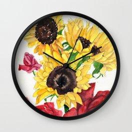 Happy Life Wall Clock