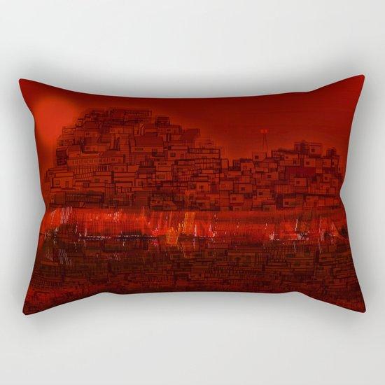 The Emerging Island / San Borondon 2016 Rectangular Pillow