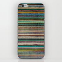 striped iPhone & iPod Skins featuring Striped by Sharon Johnstone