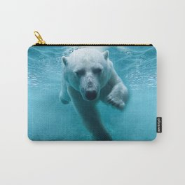 Polar Bear Swimming Carry-All Pouch
