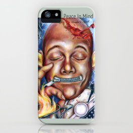 Peace in mind iPhone Case