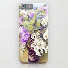Lilacs bouquet iPhone 6s Slim Case