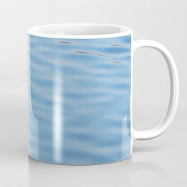 Texture of water in a river Coffee Mug