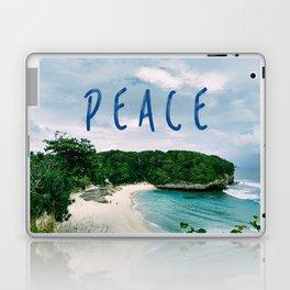 Peace Beach Laptop & iPad Skin