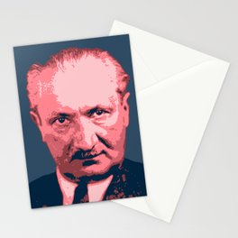 Martin Heidegger Stationery Cards