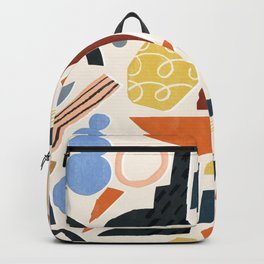 Abstract collage Backpack