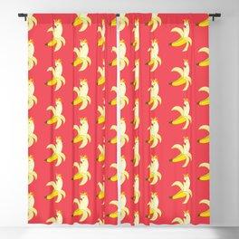 Bananatoos (Pink) Blackout Curtain