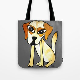Yara, the clever dog Tote Bag
