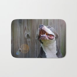 Pit-iful Smile Bath Mat