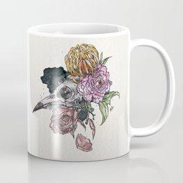 Bird Skull Garden Coffee Mug