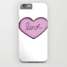 Love in your heart. iPhone 6s Slim Case
