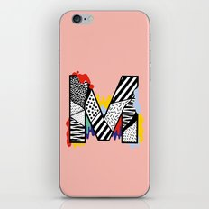 M for ... iPhone & iPod Skin