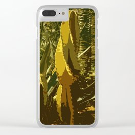 The Beauty Of A Cactus Clear iPhone Case
